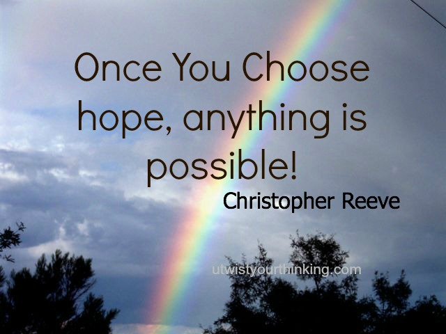 The rainbow of hope when you get help for addiction